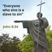 Who sins is a slave to sin