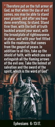 In what consist the armor of god in the bible