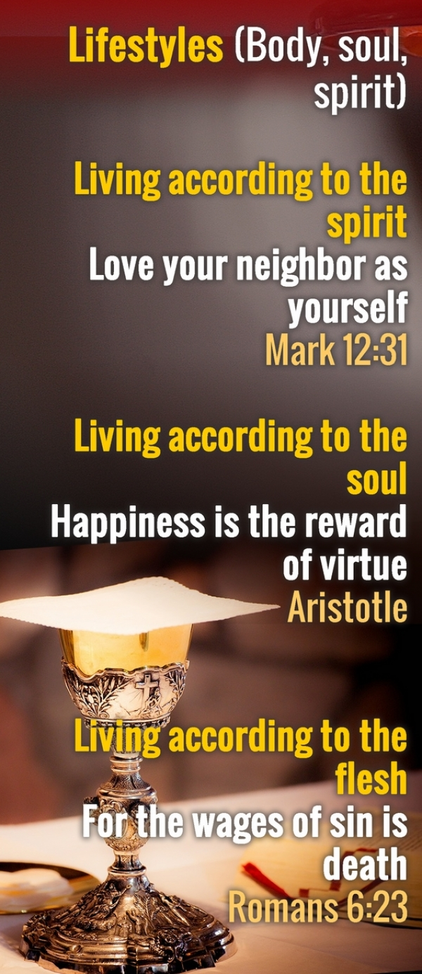 Living according to the spirit